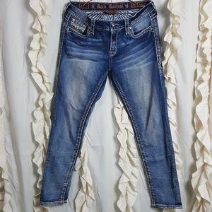 Rock Revival Kearney Easy Skinny jeans distressed